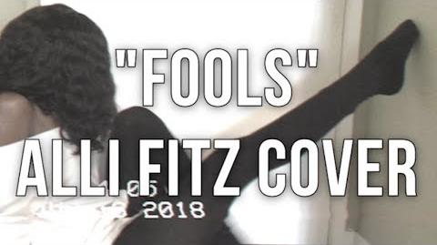 Alli Fitz - Fools (Madison Beer Cover)