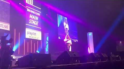"Alli Fitz performing ""Elegant"" at Playlist Live 2019"