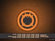 Agent orange wallpaper by willianac-d47xmmf