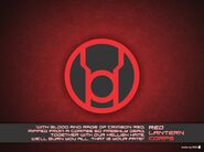 Red lantern corps wallpaper by willianac-d479uts