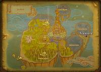 Avilon treasure map