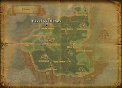 Pavel Svetlanov map