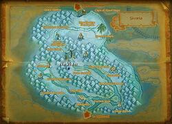 Nevian map