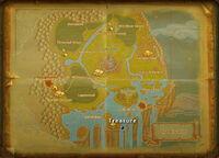 Darkwater treasure map
