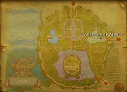 Valentina deArdeur map