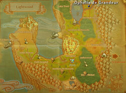 Ophelia degrandeur map