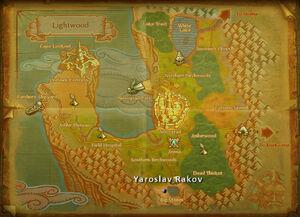 Yaroslav Rakov map
