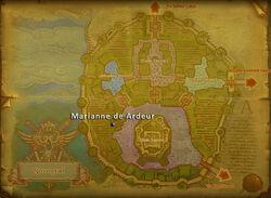 Marianne deArdeur map