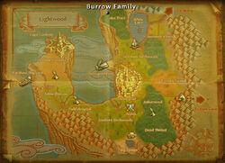 Burrow Family map