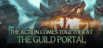 Guild portal login banner