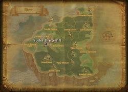 Spika the Swift map