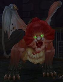 Mob-Young Manticore