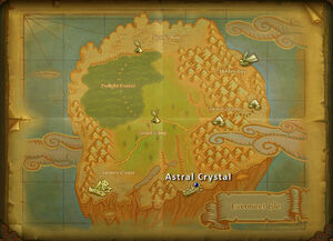 Astral crystal map