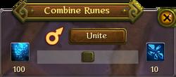 Combining runes