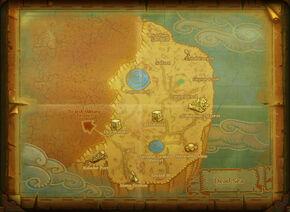 Map dead sea