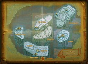 Map frozen frontier