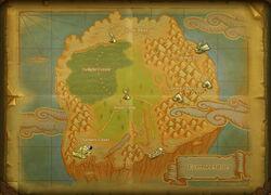 Saviours Coast map