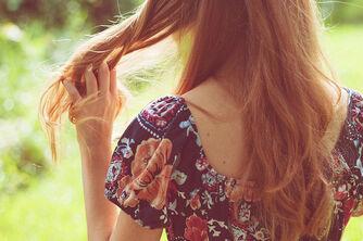 Back-floral-girl-hair-red-hair-redhead-Favim.com-54054 large