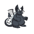 Skeith (Neopets) Black