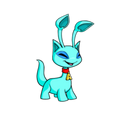 Aisha (Neopets) Blue