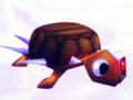Spiked Turtle (Crash Bandicoot 2)