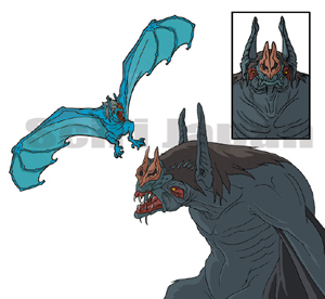 Giant Bat (Godzilla)