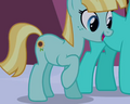 Helia Earth pony id S03E02