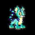 Kougra (Neopets) Blue