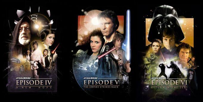 Star wars trilogy poster by sans fi-d96dpnj