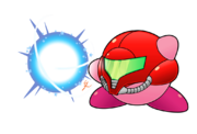 Kirby smash abilities kirby samus by efraimrdz-d7yd7bu