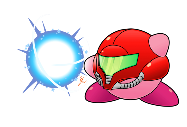 File:Kirby smash abilities kirby samus by efraimrdz-d7yd7bu.png