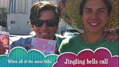 "Allstar Weekend ""Christmas Kisses"" - OFFICIAL LYRIC VIDEO"