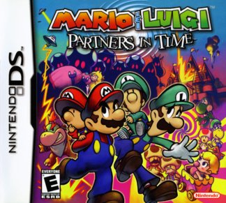 Mario & Luigi - Partners in Time Box (North America)