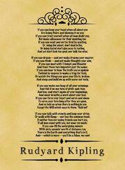 If by Rudyard Kipling.