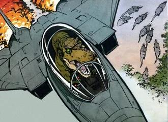 Tyrannosaur in f-14