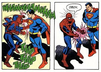 Spider-man vs superman 4168