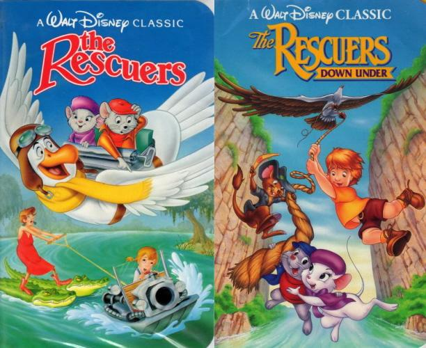 The Rescuers Disney Film