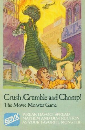 Crush Crumble and Chomp