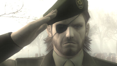 Mgs3 salute