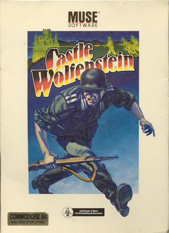 Castle Wolfenstein Muse Software Cover Art
