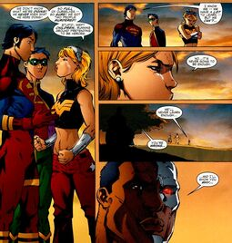 Young Justice disbanded