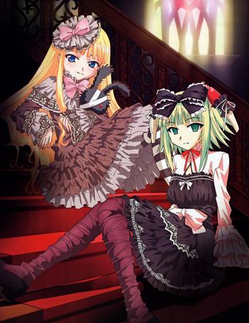 NegimaEva and Chachamaru in lolita fashion 1281