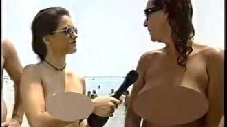 Daring South Florida Reporter Does Story on Nude Beach (mid-90's)