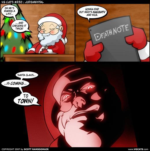 Death Note Santa