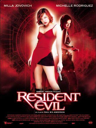 Resident Evil Film Poster