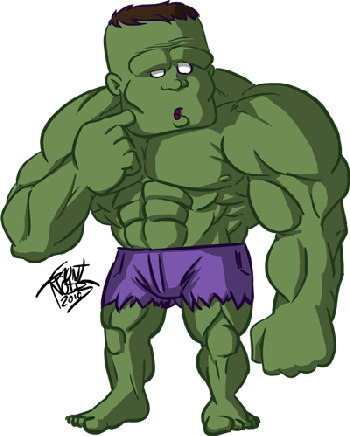 The dumb Hulk by gauntnoir-d302bot 887