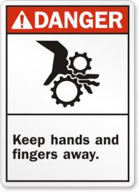 Danger fingers