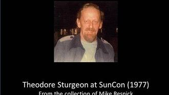 Lunacon 15 (1972) - Theodore Sturgeon Guest of Honor speech