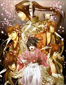Hakuoki video game key visual