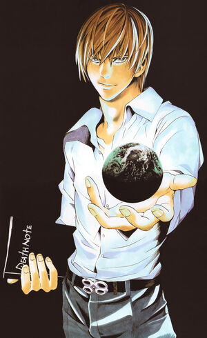 Light Yagami Earth